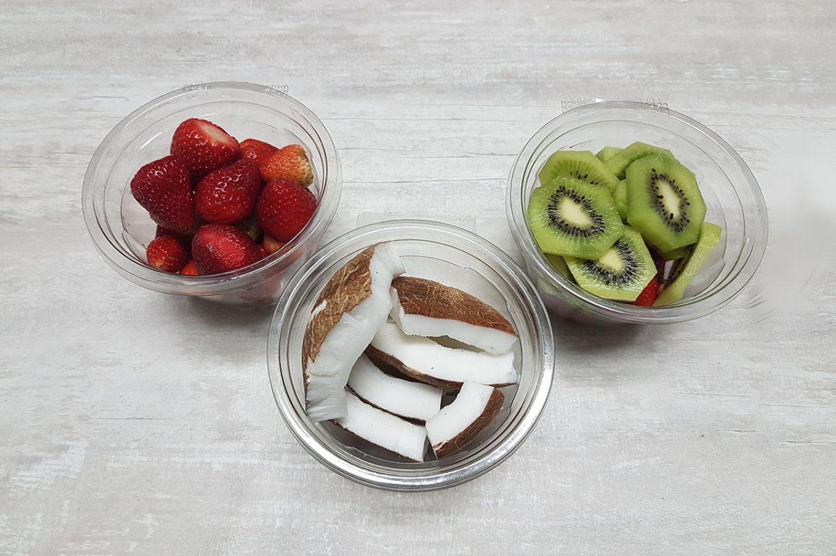 Novas opções de Frutas Picadas